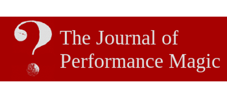 The Journal of Performance Magic - Call for Papers