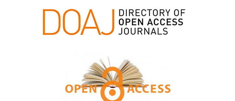 New journals accepted into the Directory of Open Access Journals (DOAJ)