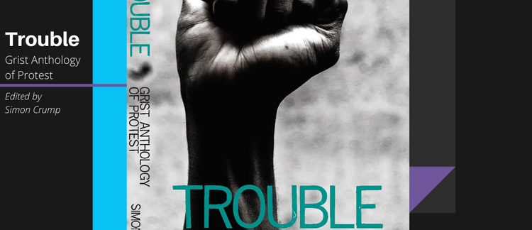 Trouble, the new Grist short fiction collection - launches today!