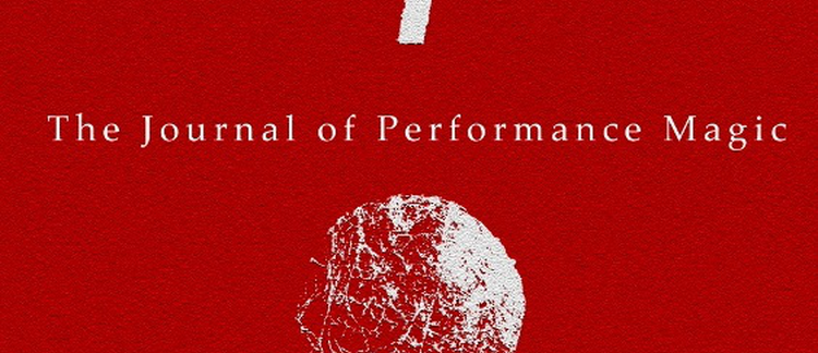 New Issue of the Journal of Performance Magic